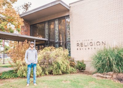"white male, beard, had, ""Religion Building"" background"
